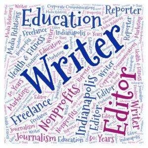 Trisha Turner Indianapolis Freelance Writer Editor Word Cloud